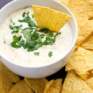 5 Ingredient Slow Cooker Queso Dip.