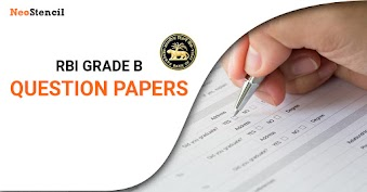 RBI Grade B Question Papers 2019