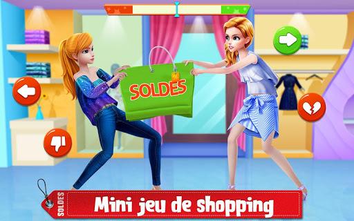 Shopping des soldes d'hiver – Jeu d'habits & mode  captures d'écran 2