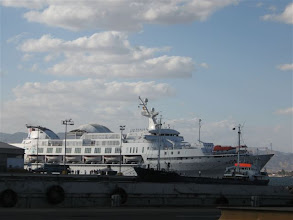 Photo: loď Sapphire v Aqabě
