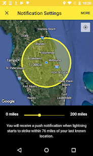 My Lightning Tracker Pro – Live Thunderstorm Map 2.6.0 MOD Apk Download 2