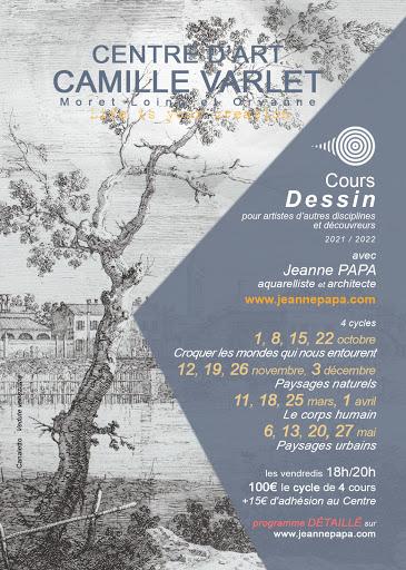 COURS DESSIN CENTRE D'ART CAMILLE VARLE