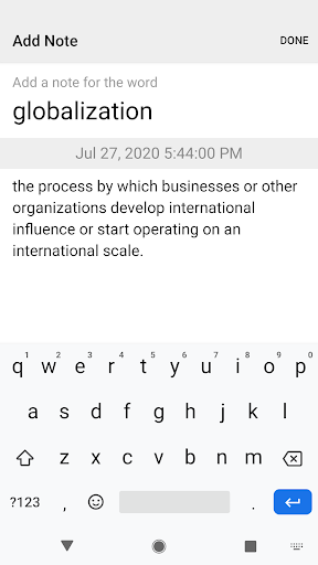 Dictionary & Translator Free screenshot 8
