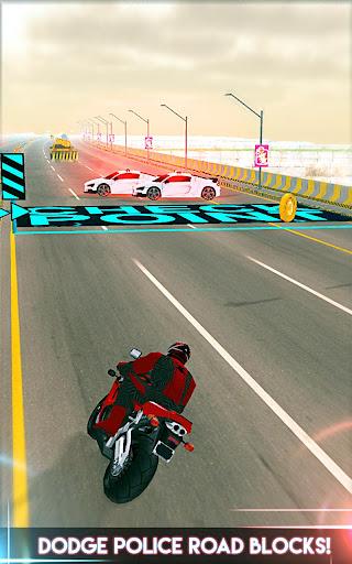 Amazing Spider 3D Hero: Moto Rider City Escape screenshot 3