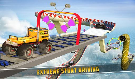 Monster Truck Mega Ramp Stunts Extreme Stunt Games screenshots 13