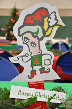 Photo: The mascot for the Redmond Association of Spokenword (RASP) is known as Raspy. Here's Raspy Christmas!