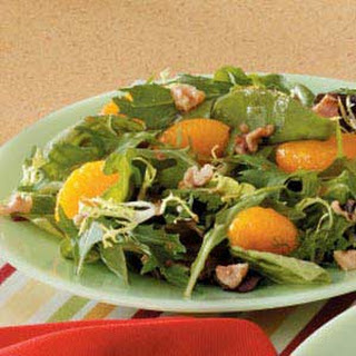 Mandarin Mixed Green Salad.
