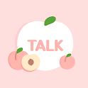 따뜻한 복숭아 테마 - 카카오톡 테마 icon