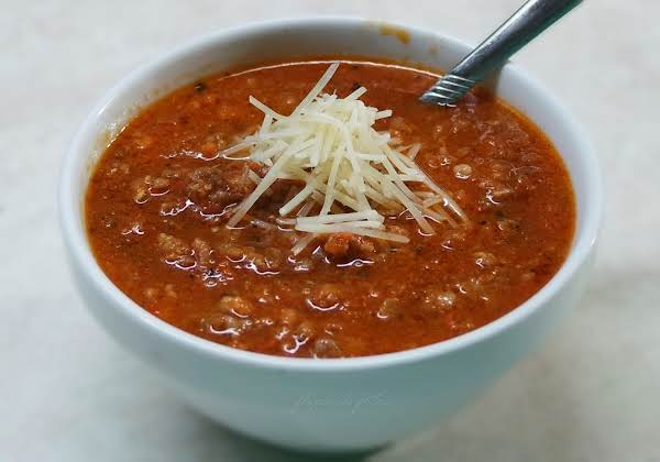 Rustic Italian Soup Recipe