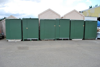Photo: Sing Storage Units with marine grade plywood & insulation