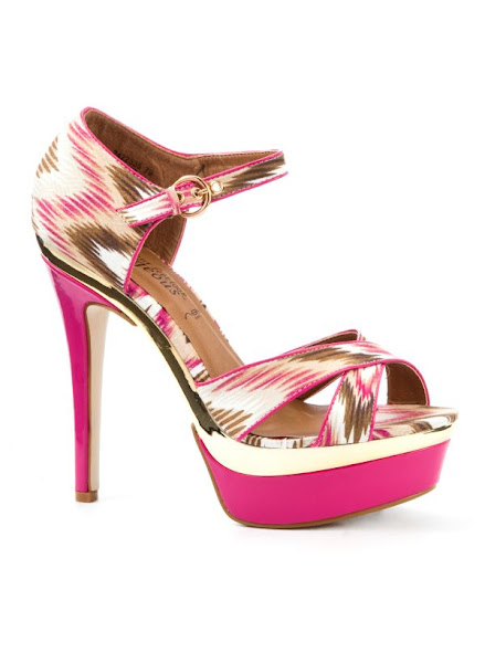 Photo: Fanfare Printed Strappy Platform Shoes £29.99 http://bit.ly/NjfR5x