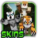 Animals skins for mc pe 2016 icon
