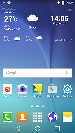 GS6 Theme for LGHome