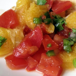 Orange/Pineapple Salsa