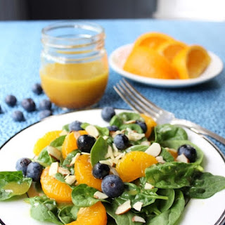 Mandarin Spinach Salad with Fresh Orange Vinaigrette