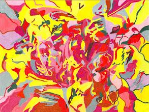 """Photo: Тадеуш Жаховский """"Всё Хорошо. Alright Now"""",  Title: Alright Now / Всё Хорошо Artist:Tadeush Zhakhovskyy / Тадеуш Жаховский Medium: Painting. mixed techique on cardboard, смешанная техника, дизайнерский картон. 50 cm x 61 cm x / 20 in x 24 in. О наличии картины просьба контактировать галерею.Также предлагается напечатанная на холсте репродукция этой картины в любом размере."""