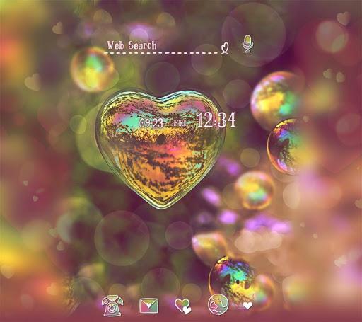 Heart Bubble  Beautiful Theme 1.0.0 Windows u7528 1