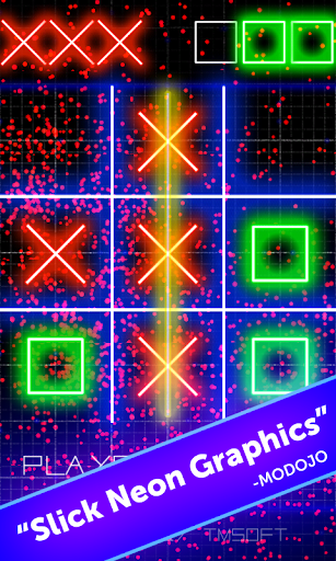 Tic Tac Toe Glow by TMSOFT screenshot 6