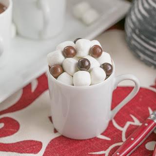 Italian Hot Chocolate or Cioccolata Calda.