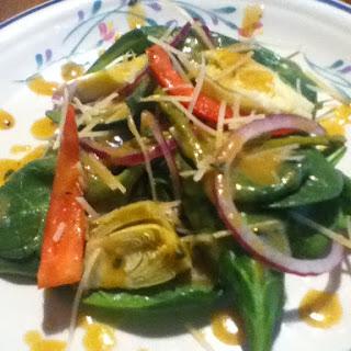 Asparagus Baby Spinach Recipes
