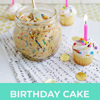 Birthday Cake Cookie Butter.