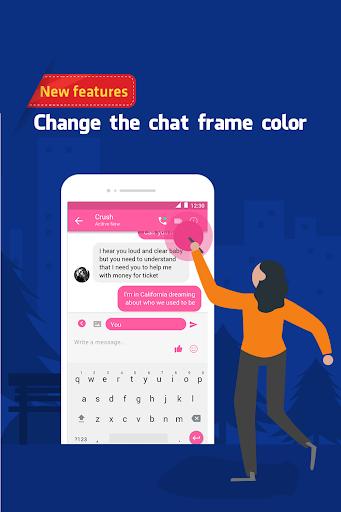 Funny chats - fake messenger 1.0.4 screenshots 4