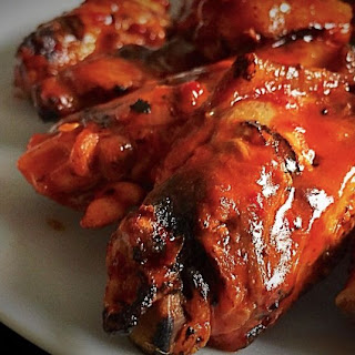 How To Make the Ultimate Honey Bourbon Chicken Wings.