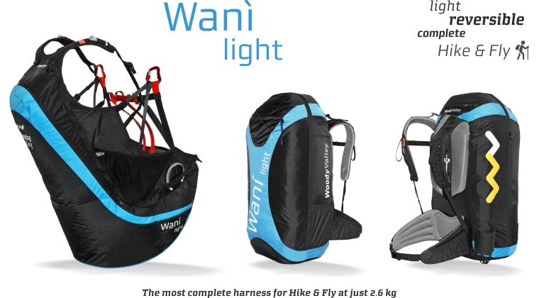 Woody valley Wani light now available at FLySpain shop