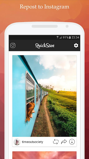 Image of QuickSave for Instagram - Downloader and Repost 2.3.5 2