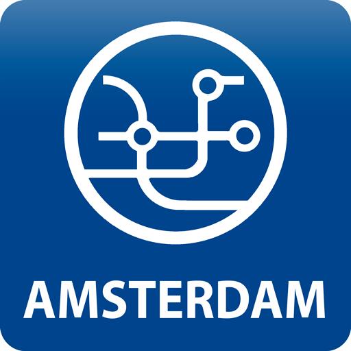 Amsterdam Public Transport Routes 2018 icon