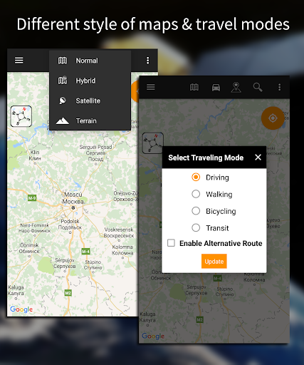 Driving Route Finderu2122 - Find GPS Location & Routes Apk 2