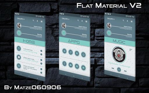 Flat Material V2 for KLWP