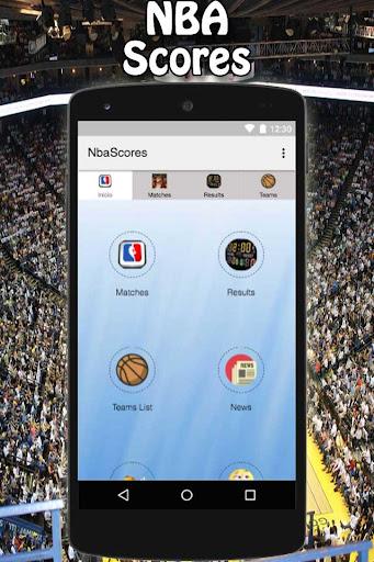 NBA Scores 1.0 screenshots 1