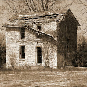 Old Stone House by R Sly - Buildings & Architecture Decaying & Abandoned