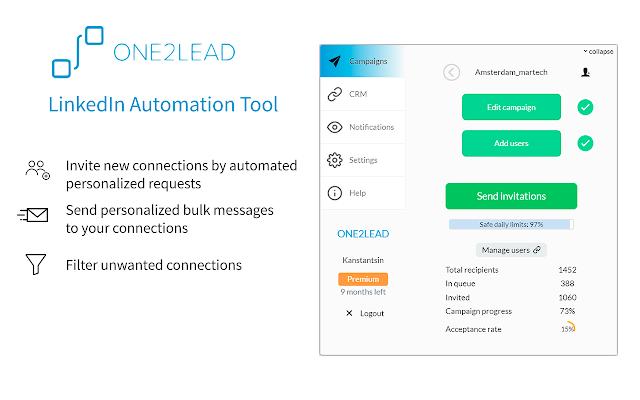 One2Lead - LinkedIn Automation Tool