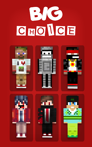 Skins Youtubers for MCPE for PC