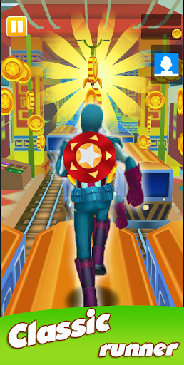 Super Heroes Run: Subway Runner 1.0.6 screenshots 5
