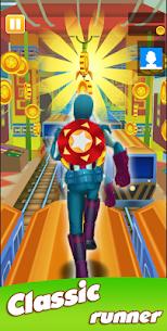 Super Heroes Run: Subway Runner 4