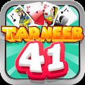 Tarneeb 41 - طرنيب 41 icon