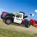 US Police Tow Truck Transport  Simulator Game 2019 icon