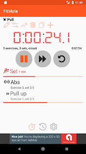 FitMate Interval Stopwatch - náhled