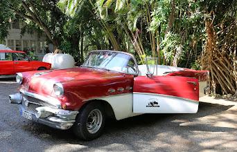 Photo: Avoauto, jolla iltapäiväretken teimme (kuljettajan kanssa!)