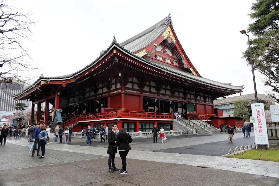 świątynia Senso-ji, Tokio, Japonia