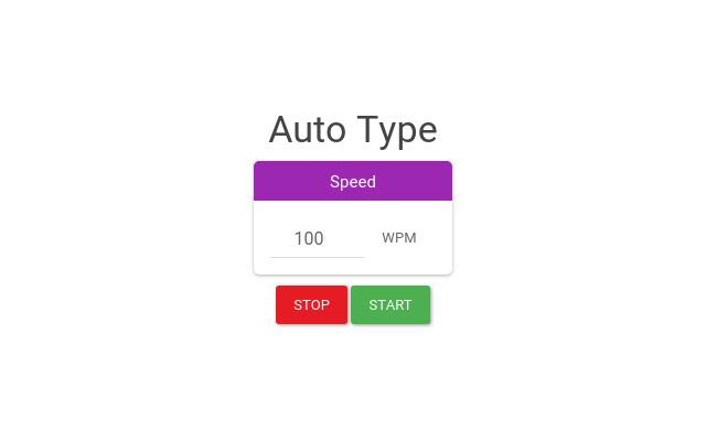 Auto Type