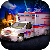 911 Emergency Ambulance Rescue - 2017 Simulator 3D