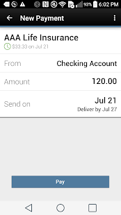WCFECU Mobile Banking- screenshot thumbnail