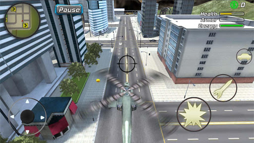 Crime Angel Superhero - Vegas Air Strike screenshots 7