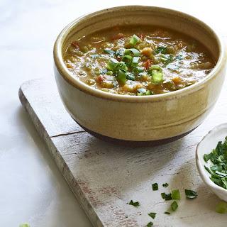 Vegan Split Pea Soup.