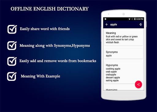Offline English Dictionary 1.0.4 screenshots 4