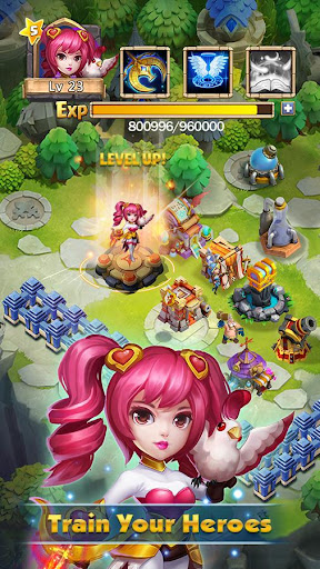 Castle Clash: Brave Squads 1.6.11 screenshots 2